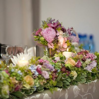 Decor nunta de poveste in culori pastel