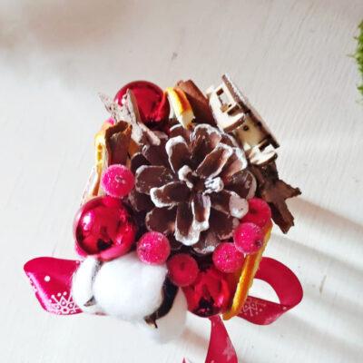 Borcănel festiv de Crăciun